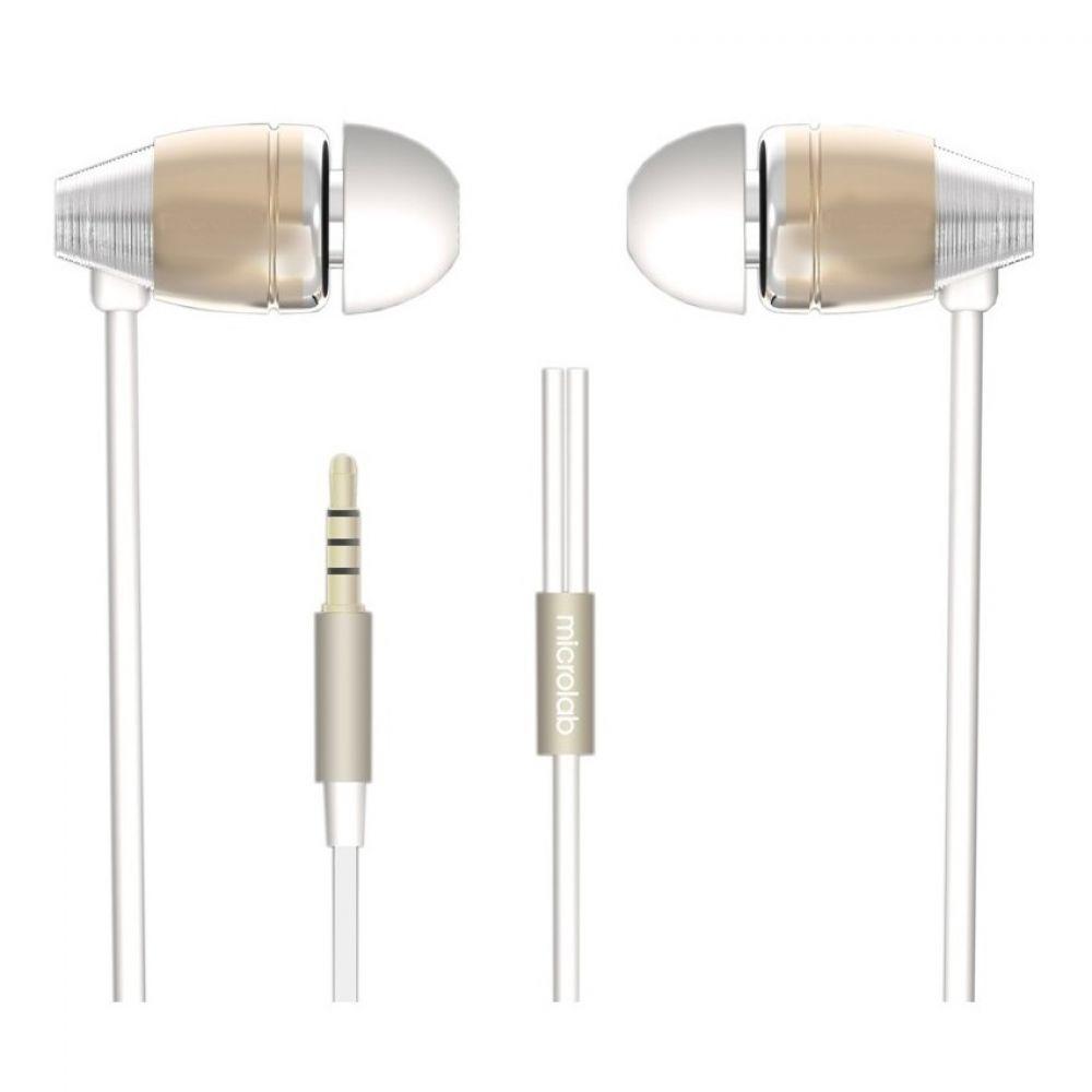 Наушники Microlab K765P champagne/silver